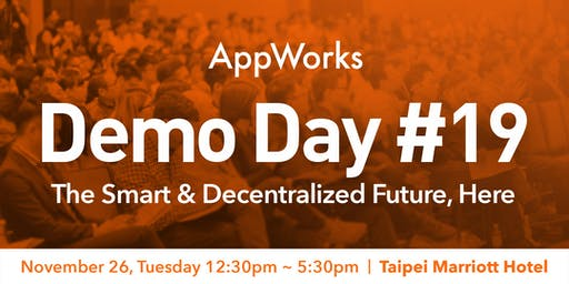 AppWorks Demo Day #19