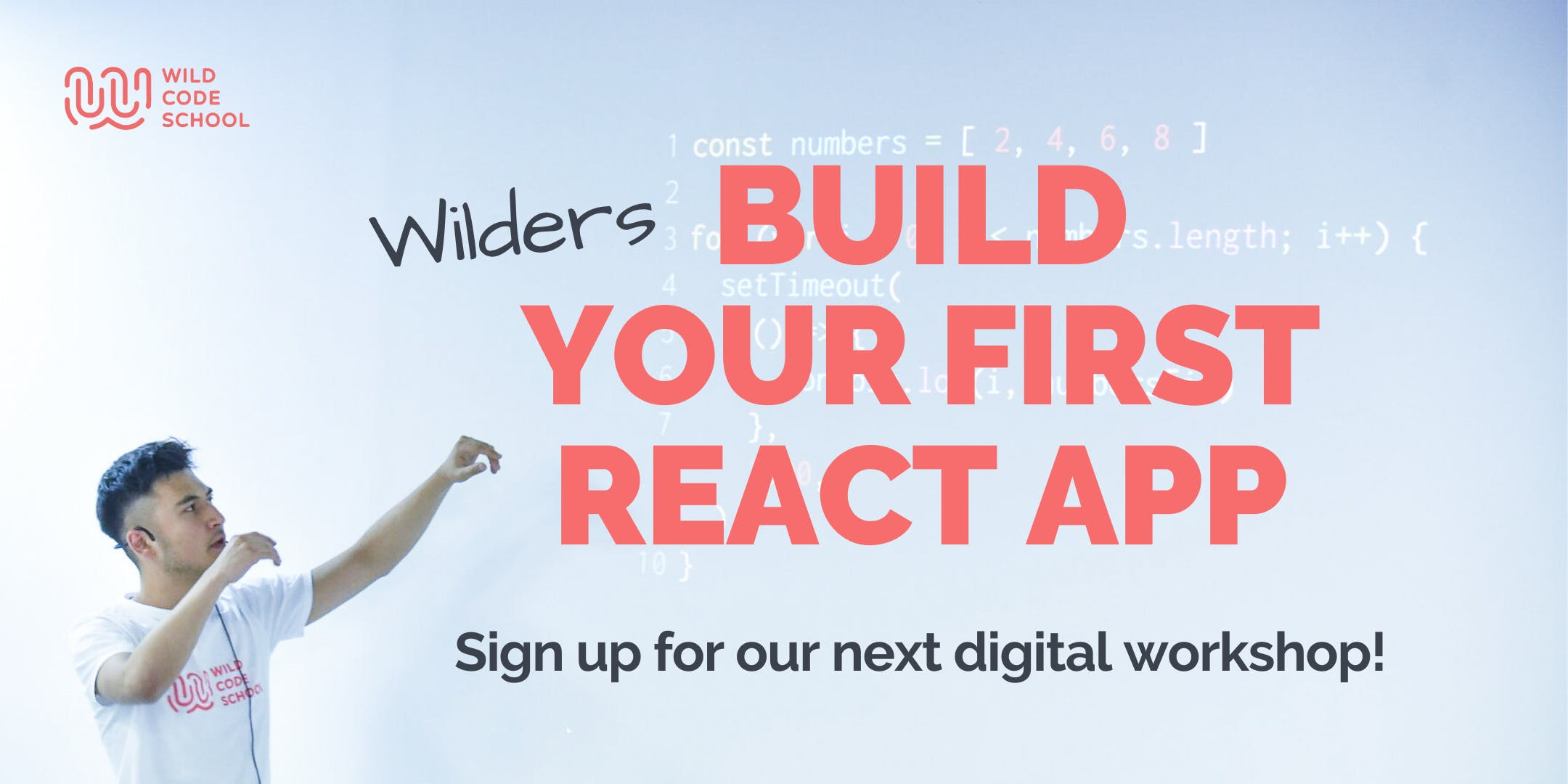 Build your first React App (Web App) | Beginners workshop
