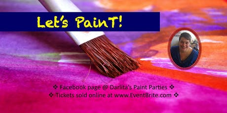 Let's Paint at Cafe D'arte tickets