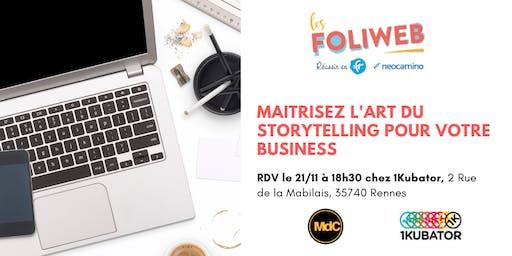 [Rennes] Maitrisez l'art du storytelling pour votre business