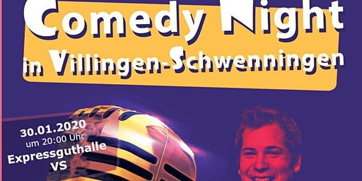Comedy Night in der Expressguthalle