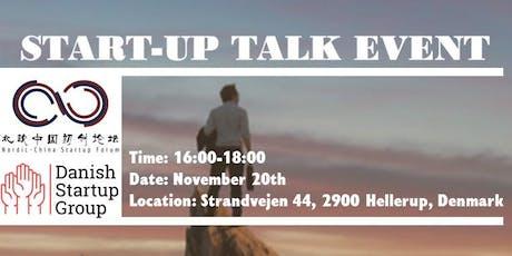 Start-up Talk tickets
