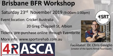 Blood Flow Restriction (BFR) Workshop - Brisbane tickets