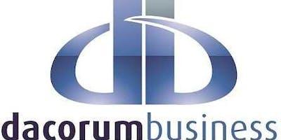 Dacorum Business Breakfast - November 2019 - The Paper Mill