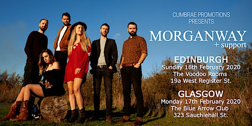 Morganway + support in Glasgow