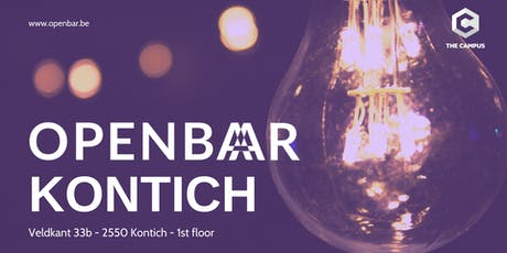 Openbar Kontich February // Entrepreneurship & Cloud-Native Thinking tickets