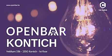 Openbar Kontich February // Entrepreneurship & Cloud-Native Thinking tickets