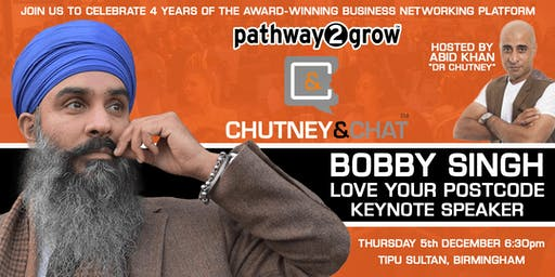 Chutney & Chat - Business Networking Birmingham 4th Anniversary