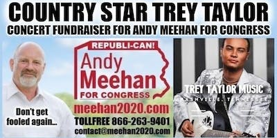 COUNTRY STAR TREY TAYLOR CONCERT FUNDRAISER FOR ANDY MEEHAN FOR CONGRESS!
