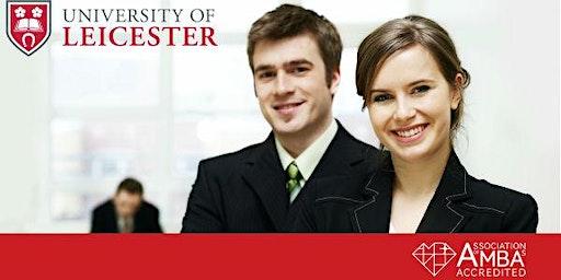 University of Leicester MBA Webinar  UAE - Meet University Professor