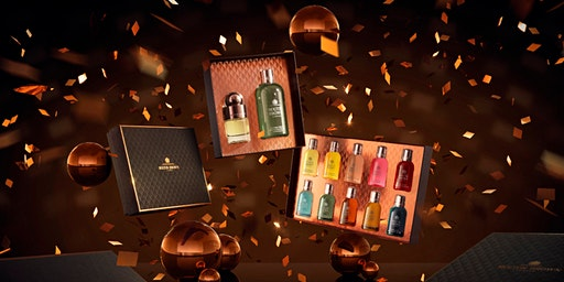Molton Brown Glasgow Silverburn Merry & Bright Gifting Event