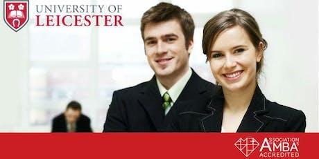 University of Leicester MBA Webinar  Bahrain - Meet University Professor tickets