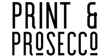 Print & Prosecco evening - Mono Screen Printing workshop tickets