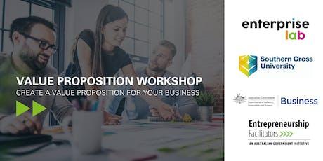 Workshop: Develop your value proposition tickets