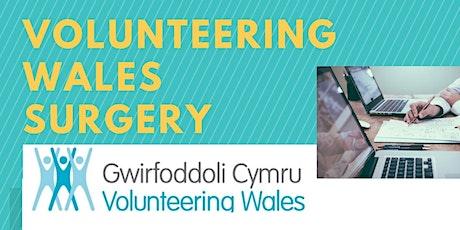 Volunteering Wales Surgery (Flintshire) - 20th JANUARY 2020 tickets
