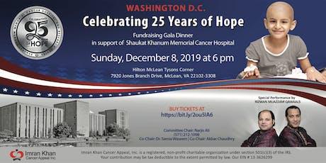Fundraising Gala Dinner in Washington D.C tickets