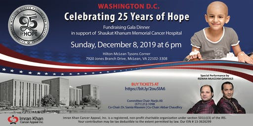Fundraising Gala Dinner in Washington D.C