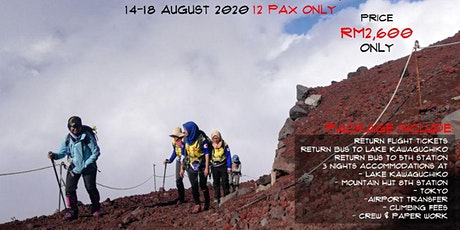 Mount Fuji Hiking and Backpacking tickets