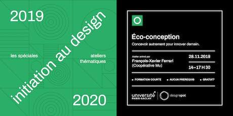 Design et écoconception – Les spéciales – module d'initiation au design billets