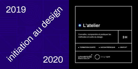 L'atelier - module d'initiation au design tickets