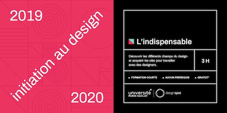 L'indispensable - module d'initiation au design tickets