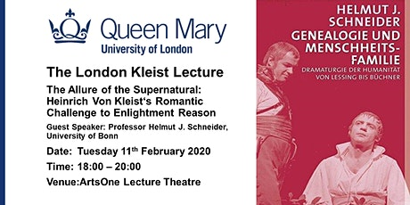 The London Kleist Lecture tickets