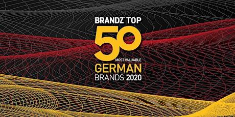 BrandZ™ Top50 Most Valuable German Brands 2020 tickets