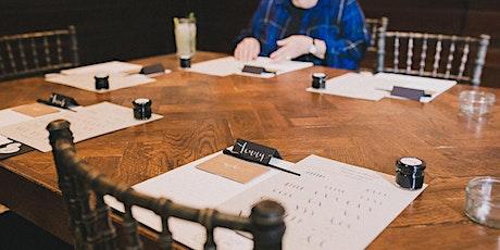 Modern calligraphy workshop with afternoon tea in Birmingham tickets