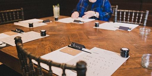 Modern calligraphy workshop with afternoon tea in Birmingham