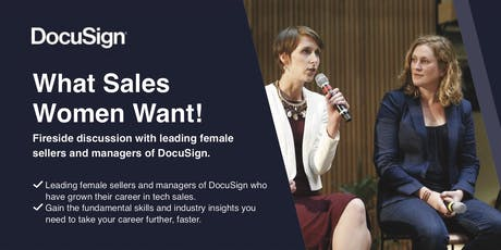 What sales women want from their career ! tickets