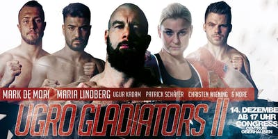 UGRO Gladiators II - Internationale Profi Box-Gala in Oberhausen