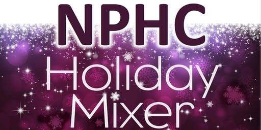 NPHC of Greenville Holiday Mixer 2K19