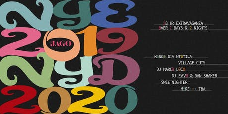 New Years Eve at The Jago tickets