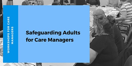 Safeguarding Adults for Managers tickets