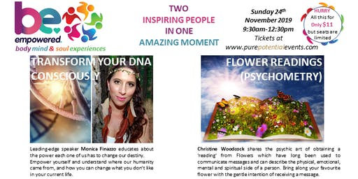 Change your DNA & Destiny and Learn your Future through Flower Readings