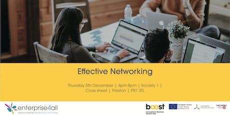 Effective Networking tickets