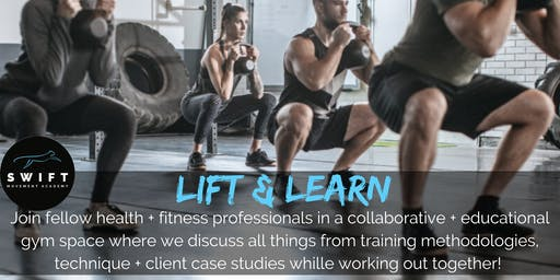 Lift & Learn - Group Training Session for Fitness Coaches