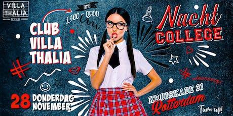 Nachtcollege 28.11.2019 tickets