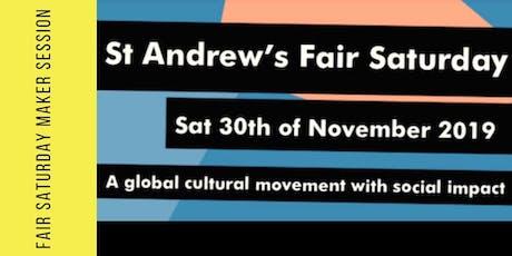 Fair Saturday £10 Mini Makes tickets