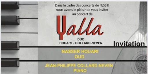 Concert du DUO Nasser Houari et Jean-Philippe Collard