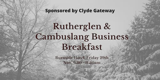 Rutherglen & Cambuslang Business Breakfast