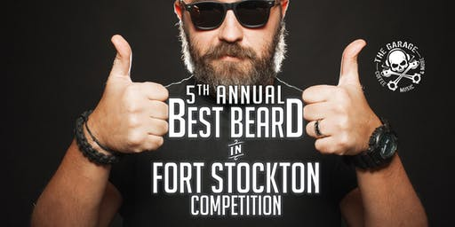 5th Annual Best Beard in Fort Stockton & Free Concert