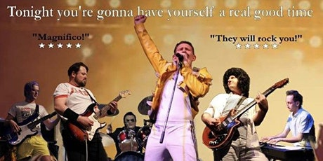 Don't Stop Queen Now Tribute Night tickets