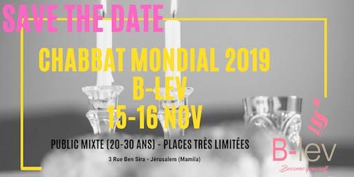 Chabbat Mondial 2019 (20 - 30 ans)
