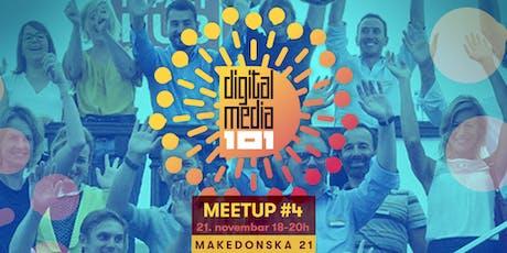Digital Media 101 Meetup #5 tickets