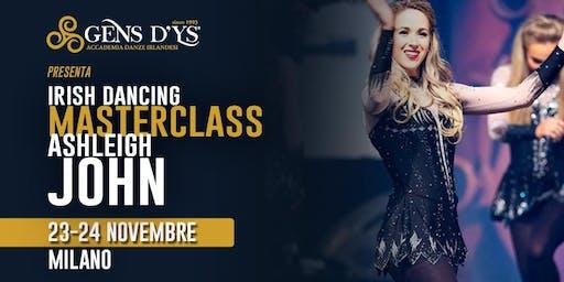 Masterclass Irish Dancing - Milano