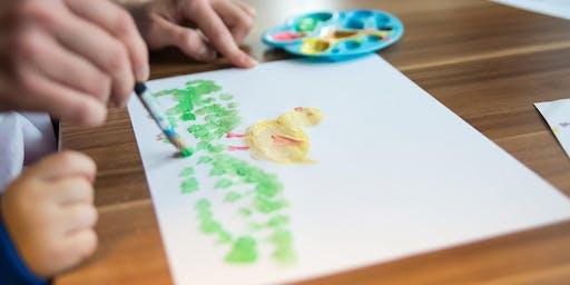 Paint-Along Art Classes for Children