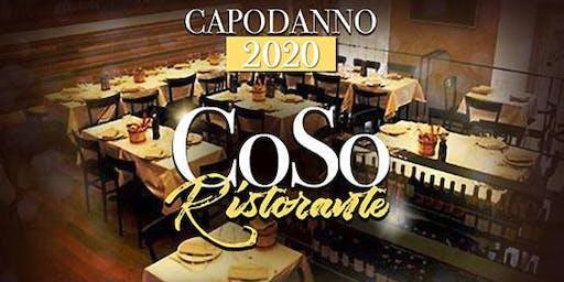 Capodanno 2020 Ristorante Coso via del Corso: cenone nel centro di Roma