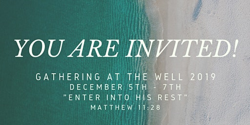 Gathering At The Well 2019