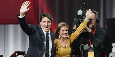 Dämpfer und Neustart für Justin Trudeau? Wahlanalyse mit Dr. Martin Thunert Tickets